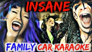 Epic family car karaoke compilation - Video