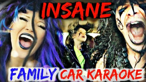 Epic family car karaoke compilation