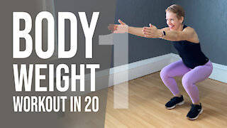 Bodyweight Workout in 20 Minutes