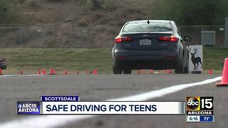 Scottsdale man starts teenage safe driving class - Video