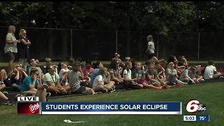 Carmel students experience solar eclipse - Video