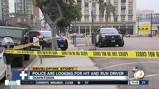 Driver sought in deadly downtown hit-and-run