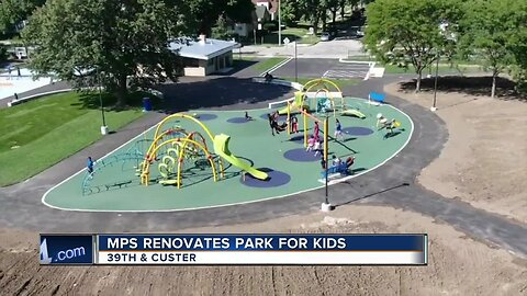 MPS renovates park for kids near 39th & Custer