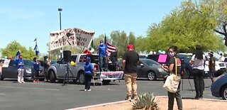 Protesters take to Vegas streets in support of immigrant workers