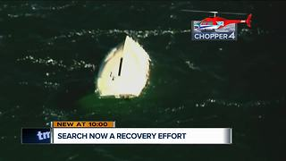 Search for missing boater now a recovery mission