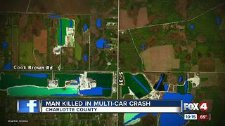 Man Killed in Multi-Vehicle Crash - Video