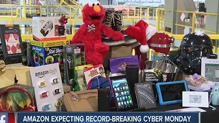 Amazon expecting record-breaking Cyber monday sales - Video
