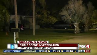 Possible shooting under investigation in Fort Myers - Video
