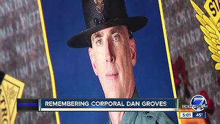 CSP Corporal Dan Groves remembered as one of agency's best; memorial service set for March 21