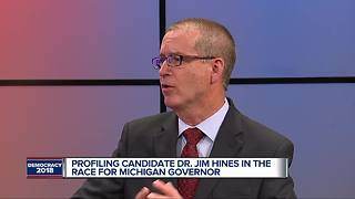 One-on-one with Republican gubernatorial candidate Jim Hines - Video