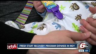 Fresh start recovery program expands in Indy - Video