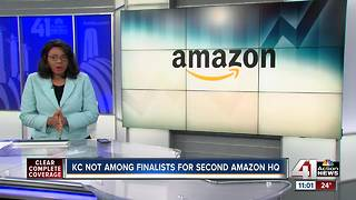 KC not among list of finalists for second Amazon headquarters - Video