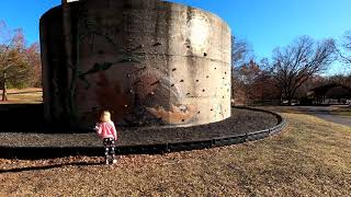 Outdoor Climbing Wall on a Cylinder?