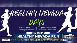 Healthy Nevada Day 5K/1 Mile walk - Video