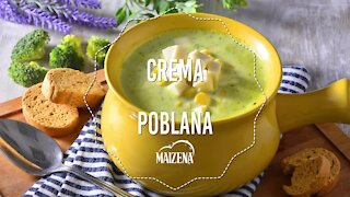 Poblana Cream with Panela Cheese