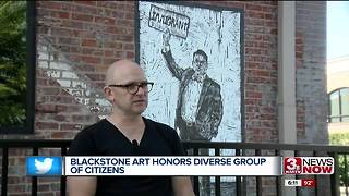 Blackstone artwork inspiring positive change - Video