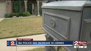 Broken Arrow sees increase in holiday crime - Video