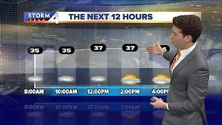 Cloudy with a few morning flurries Friday - Video