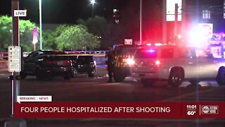 4 people taken to hospital after shooting in Clearwater, police say