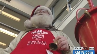 Salvation Army's The tree of lights campaign at 30 percent of their goal - Video