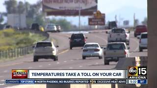 Tips to stay safe on the roads during dangerous heat