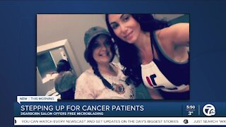 Stepping Up For Cancer Patients