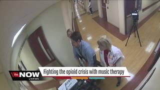Fighting the opioid crisis with music therapy - Video