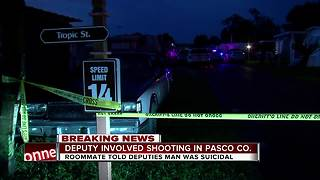 Pasco Sheriff's Office investigating deputy-involved shooting - Video