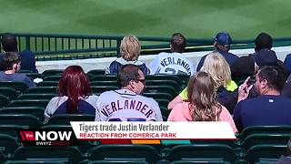 Fans react to Justin Verlander leaving the Detroit Tigers - Video