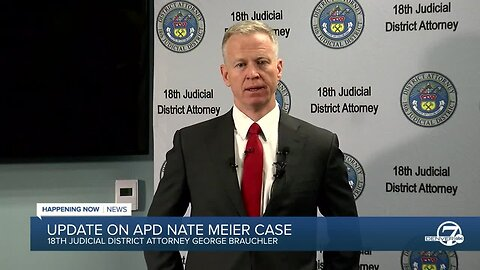 District attorney announces he won't pursue DUI charge against Aurora Officer Nate Meier