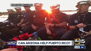Arizona ready to deploy aide to Puerto Rico if called - Video