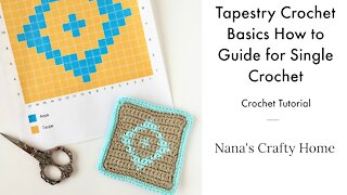 Tapestry Crochet Basics Guide Tips & Tricks Tutorial