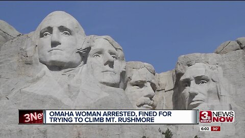 Omaha Woman Arrested for Climbing Mount Rushmore