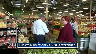 Lucky's Market opens first St. Pete location