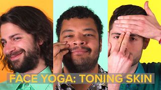 Face Yoga: how to smile your way to more toned skin - Video