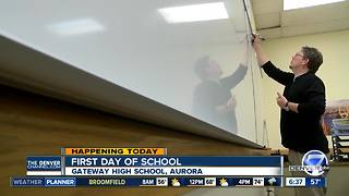 Aurora Public Schools start classes this week - Video