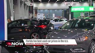 Florida is cheapest place to buy used cars in U.S., study says - Video