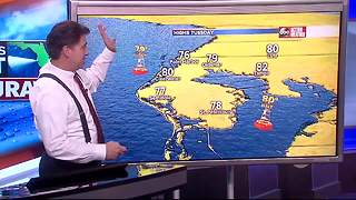 Florida's Most Accurate Forecast with Denis Phillips on Monday, October 23, 2017