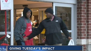 Giving Tuesday kicks off holiday giving season - Video