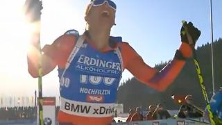 First American To Win Biathlon Championship - Video