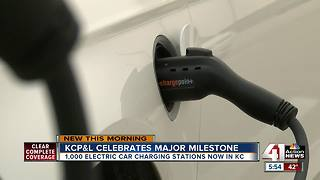 KC now has more than 1,000 EV charging stations - Video