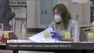 Trump campaign could challenge results after election recount completed