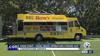 Food trucks must go in Loxahatchee Groves - Video