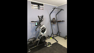 Bowflex Max Trainer, Pushup's, and Pullup's