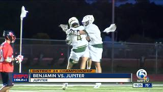 Jupiter boys lacrosse advances to regionals