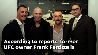 Former UFC Owner Frank Fertitta Is Interested In Buying Carolina Panthers - Video