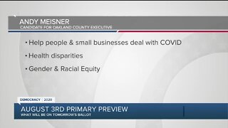 Primary preview: Oakland County Executive