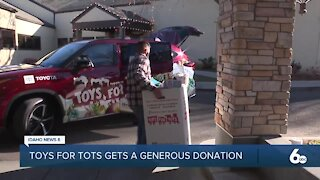 Toys for Tots gets generous donation from Hillcrest Country Club