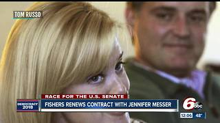 Fishers renews contract for wife of Luke Messer - Video