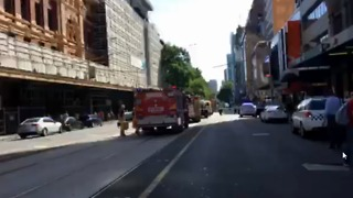 Emergency Services on Scene After SUV Strikes Multiple Pedestrians in Melbourne CBD - Video